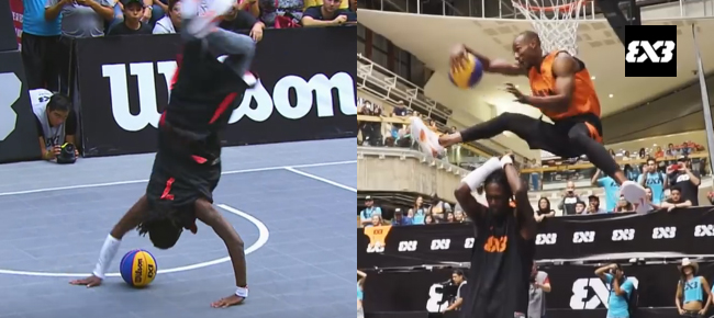 INSANE Dunk Contest - Americas - 2016 FIBA 3x3 World Tour (VIDEO)