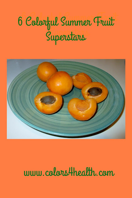Delicious Apricots at Colors 4 Health