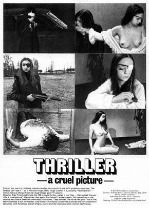 Poster do filme Thriller - Um Filme Cruel