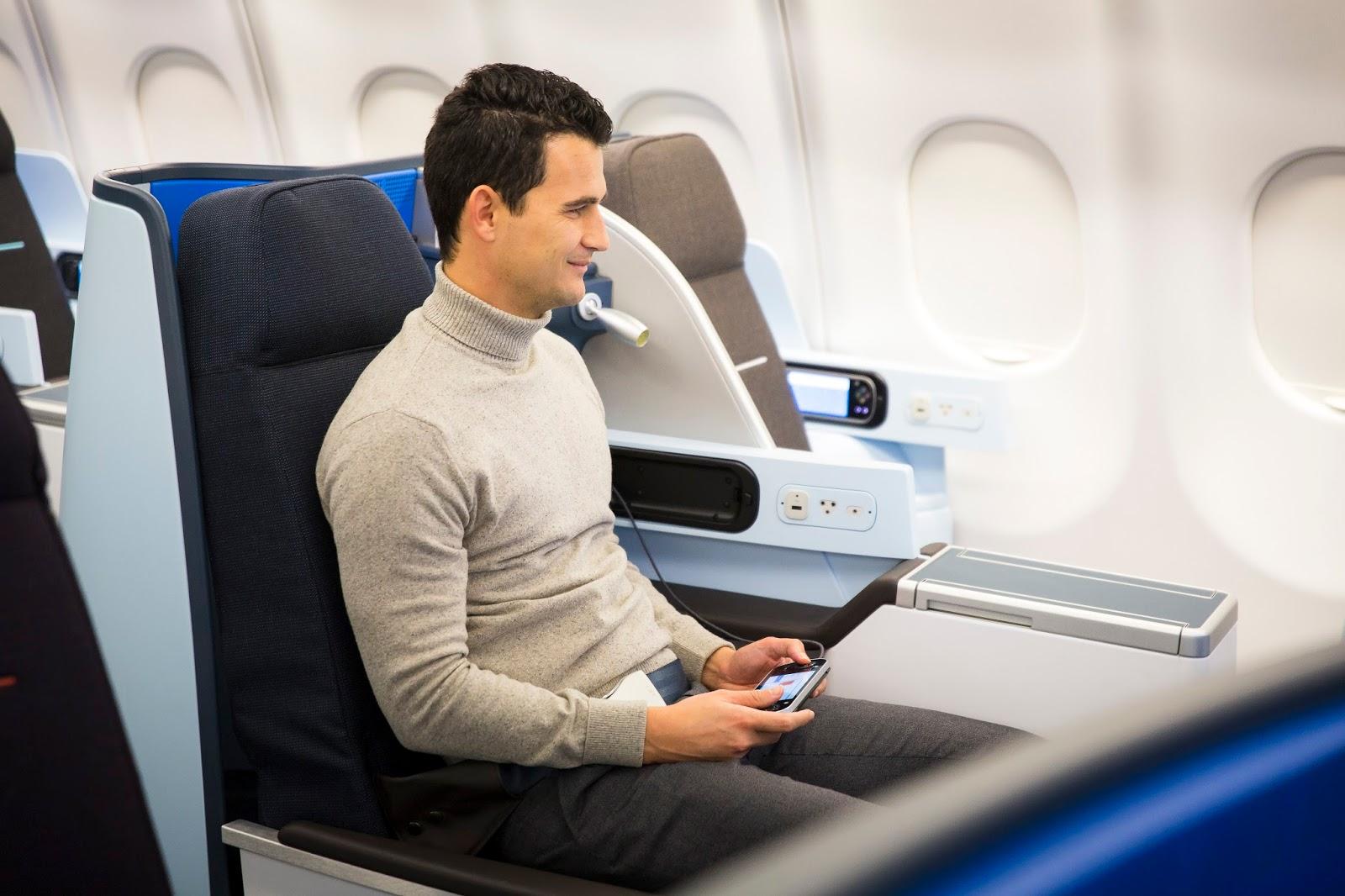 Luxo simples assim nova cabine business na rota amsterd for Migliori cabine business class 2017