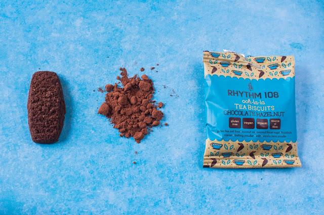 Chocolate Hazelnut Vegan Gluten Free Biscuit