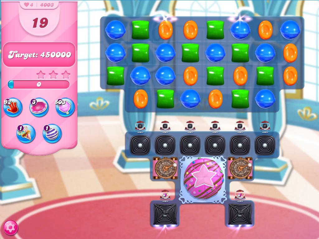 Candy Crush Saga level 4003
