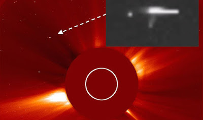 NASA catches UFOs at the Sun all the time refuelling.