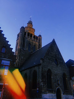 holy blood church from in bruges film