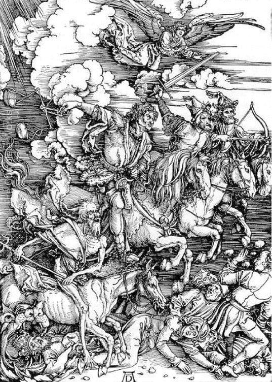 Resultado de imagen de Los cuatro jinetes del apocalipsis