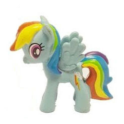 MLP Busy Book Figure Rainbow Dash Figure by Phidal