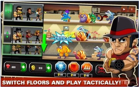 Game Strategi Android Offline Mafia Vs Monsters MOD APK