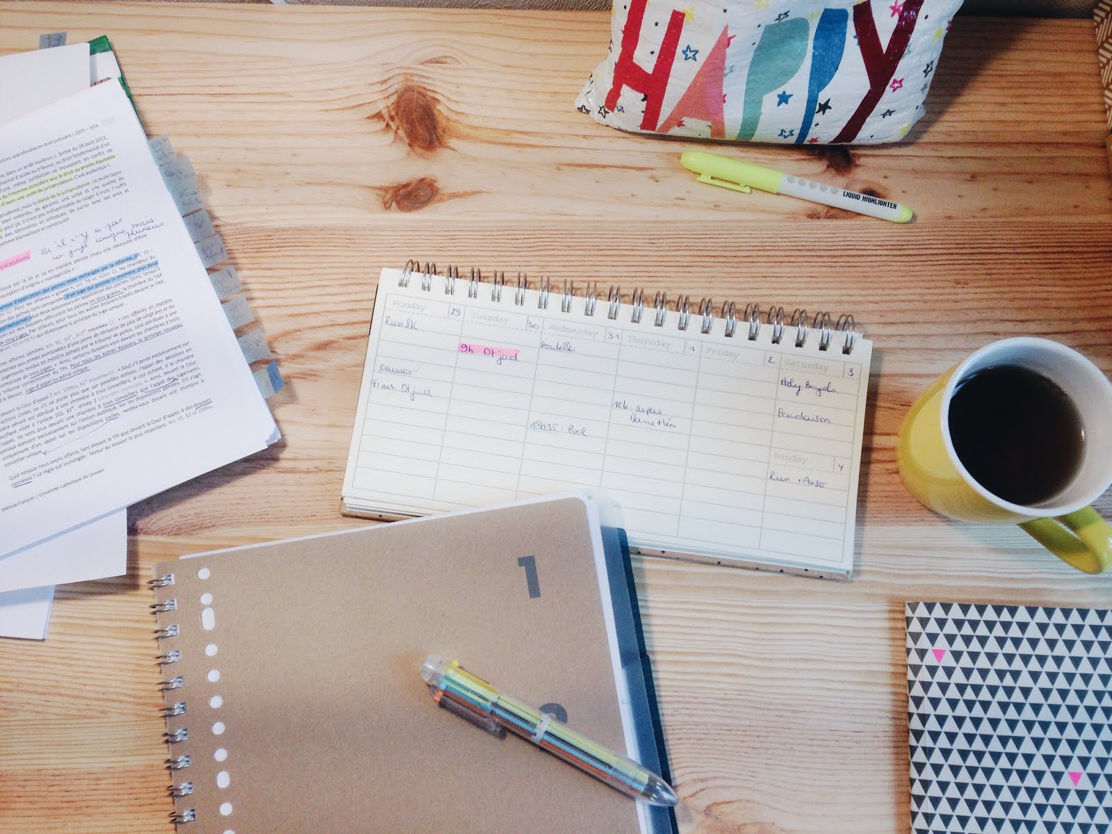 office study motivation ravacholle lifestyle blog pens on a desk life lately blog post