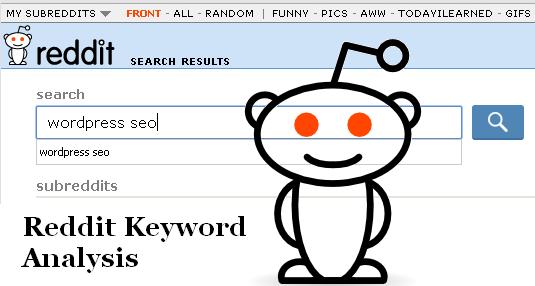 Reddit - A potential keyword mine