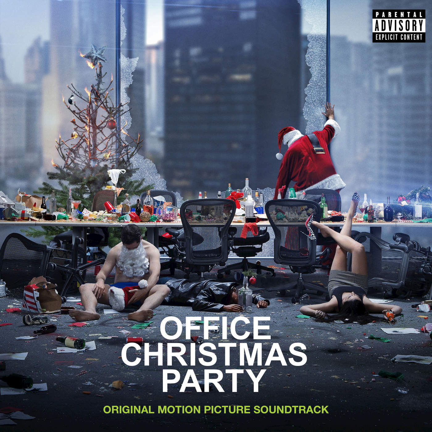 Various Artists - Office Christmas Party (Original Motion Picture Soundtrack) Cover