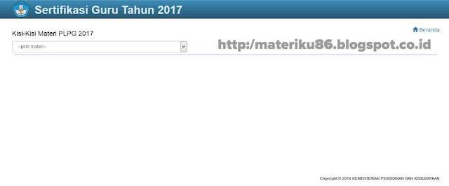 Untuk mencerdaskan kehidupan bangsa dan mengembangkan manusia tentu sangatlah dibutuhkan p Download Kisi-kisi UTN atau UKG dan Materi PLPG Terbaru 2017