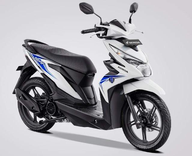 Warna Baru new Honda BeAT eSP White 2019