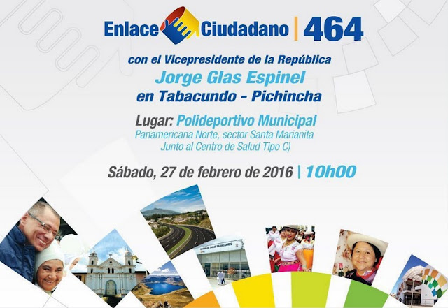 sabatina de correa de esta semana en Tabacundo