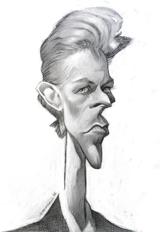 David Bowie por Bruno Tesse