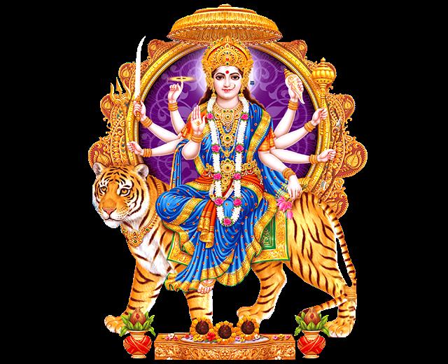 goddess durga png images for free Goddess Durga vector images for free Goddess Navadurga banner designs