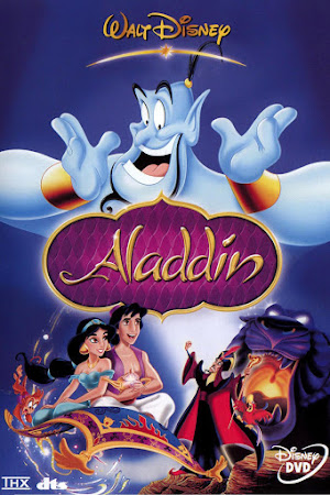 Poster Of Aladdin In Dual Audio Hindi English 300MB Compressed Small Size Pc Movie Free Download Only At worldfree4u.com