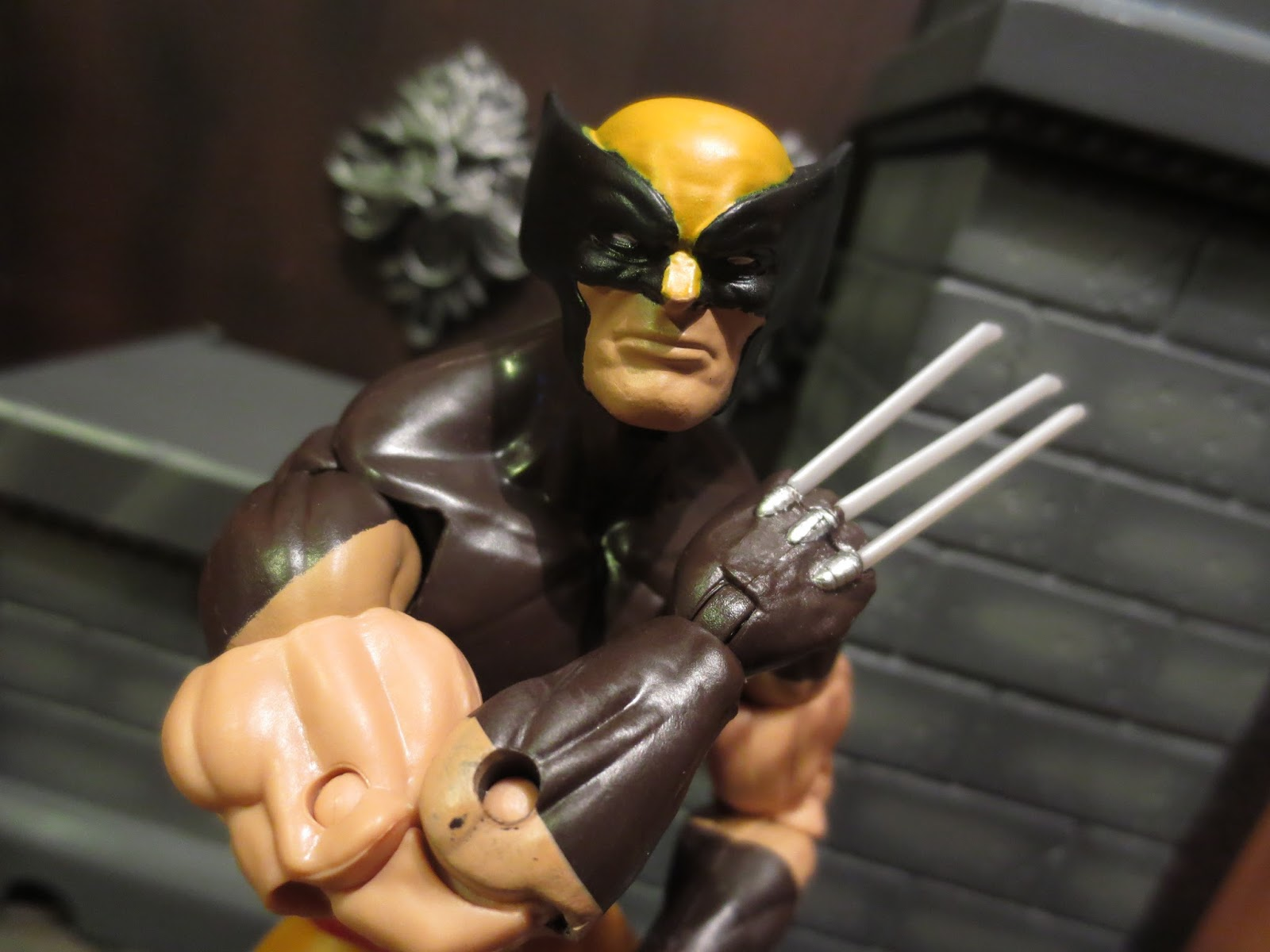 "Marvel Legends X-Men Juggernaut Series WOLVERINE Loose 6/"" Figure Hasbro 2016"