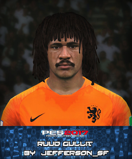 PES 2017 Faces Ruud Gullit by Jefferson_SF