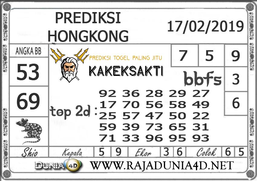 Prediksi Togel HONGKONG DUNIA4D 17FEBRUARI 2019