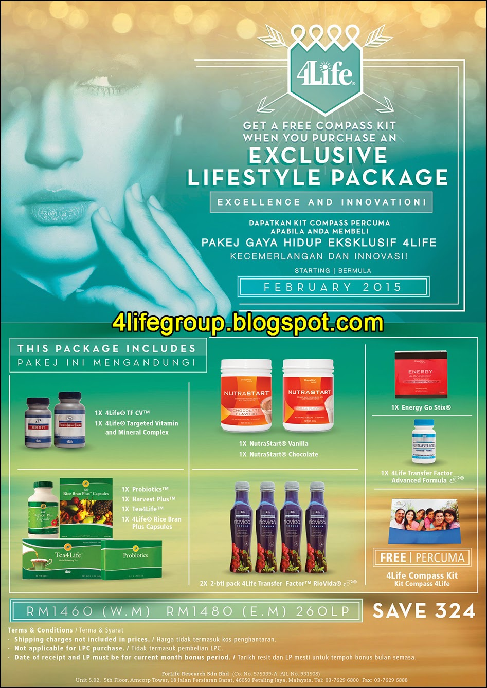 foto 4Life Exclusive Lifestyle Package