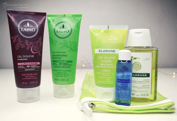 shower gels shampoo Laino Klorane