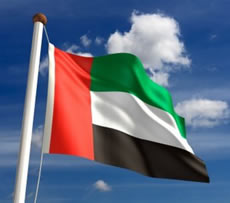 United Arab Emirates (UAE) flag