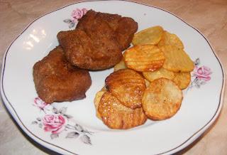 Soia snitele cu cartofi prajiti retete culinare de post,