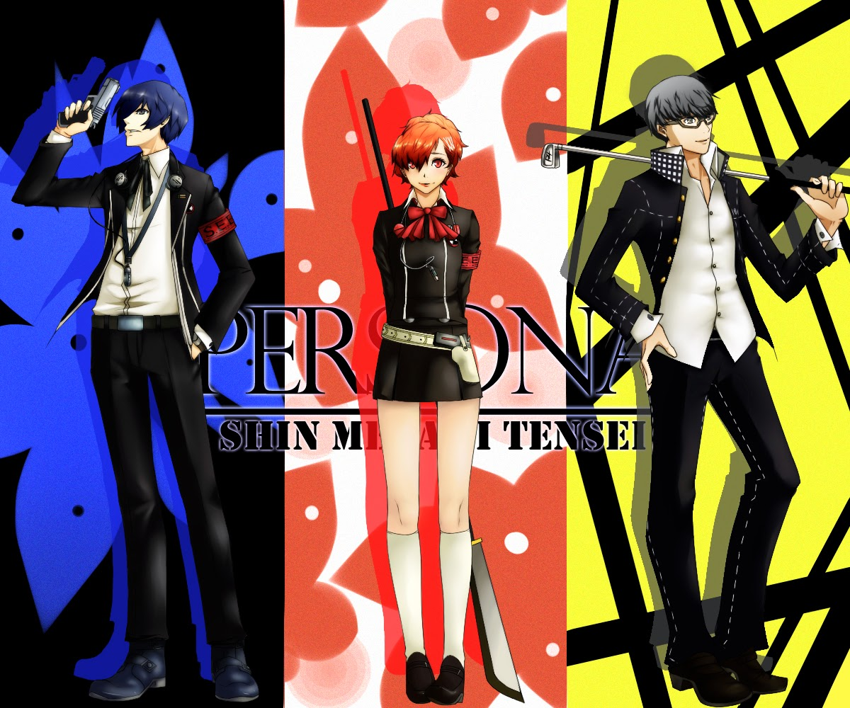 download Persona 3 and 4 here