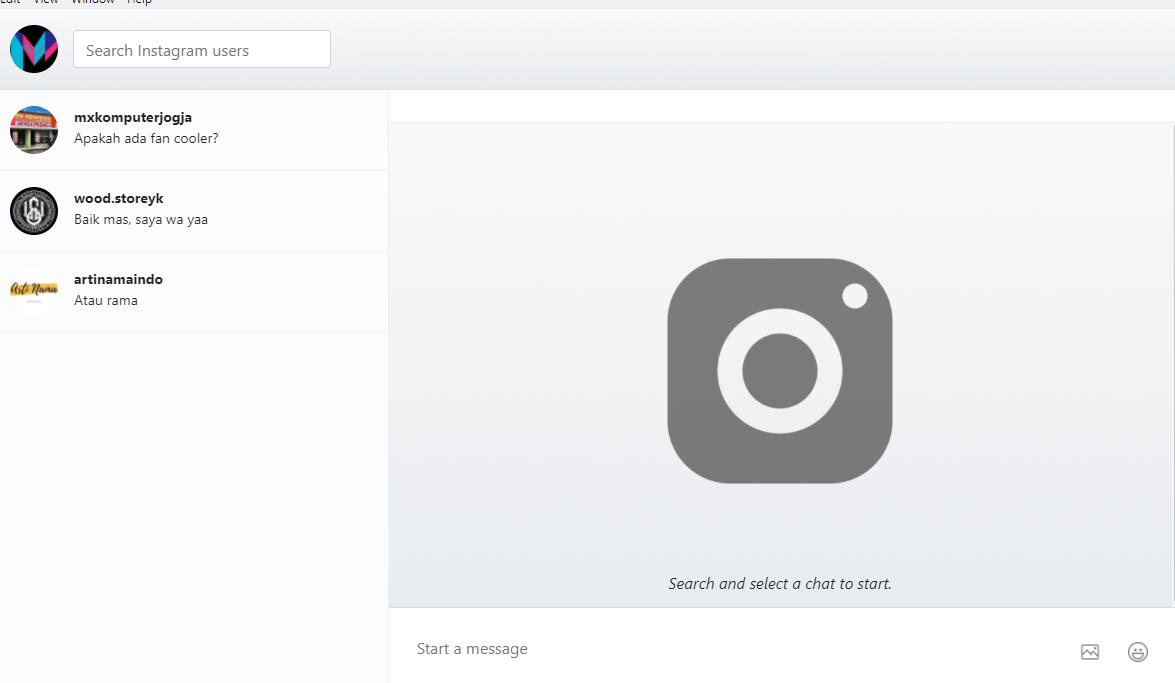 √ Cara Membuka DM (Direct Message) Instagram di PC atau