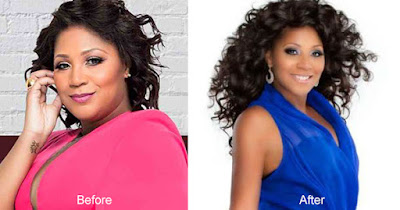 Trina Braxton weight loss