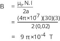 Jawaban soal fisika tentang medan magnetik nomor 3