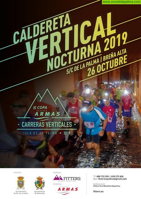 Más de 160 personas participarán en la nueva edición de la Caldereta Vertical Nocturna