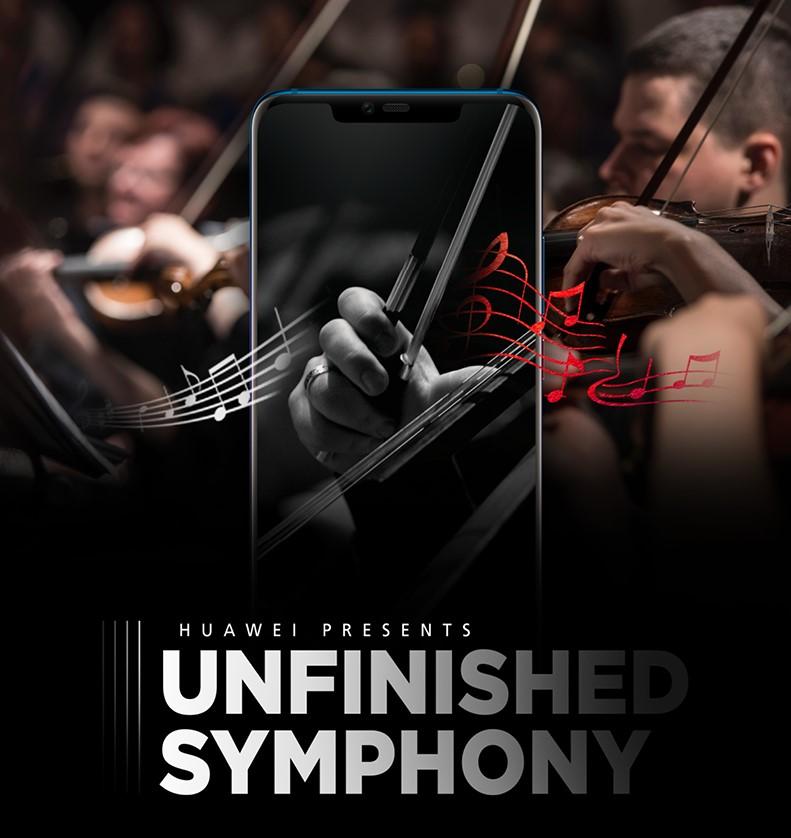 Huawei / Honor will uns mit künstlicher Intelligenz in Smartphones beeindrucken | Schuberts Unvollendete soll mit einem Handy vollendet werden