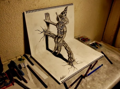 04-NAGAI-HIDEYUKI-Hide-永井-秀幸-3D-Pencil-Drawings-www-designstack-co