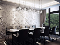 Stunning Modern Dining Room Wall Decor Ideas with Pretty Detail