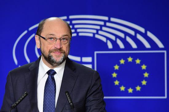 Le président du Parlement européen, Martin Schulz, annonce qu'il ne briguera pas un troisième mandat à la tête de l'institution