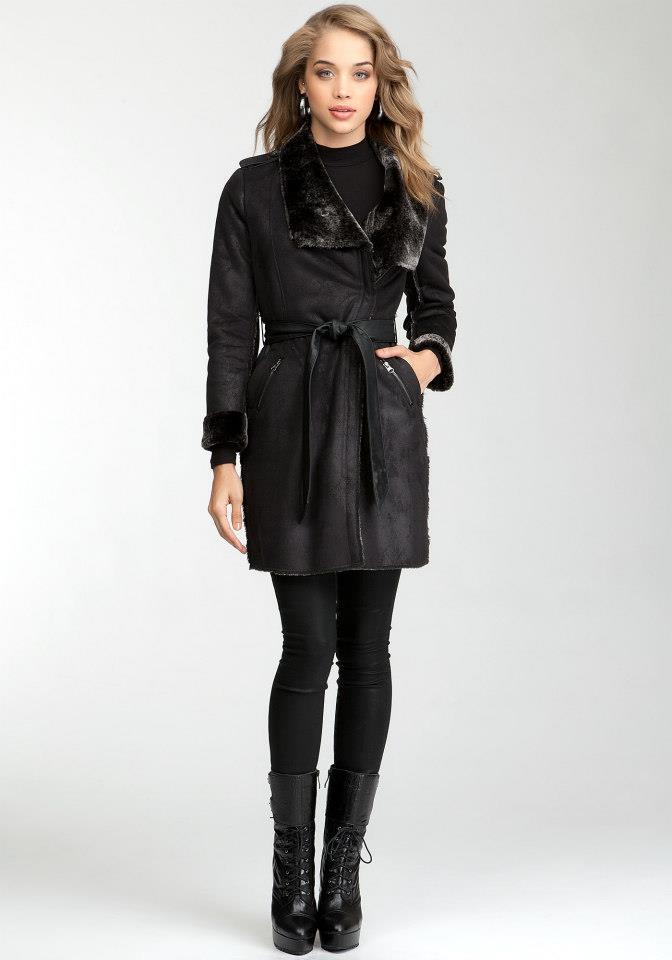 Winter Coats 2012 For Girls Bebe Designer Coats Styles