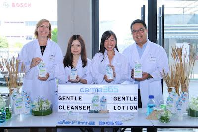 derma365, sabun badan untuk kulit sensitif, penjagaan harian untuk kulit sensitif, derma365 gentle lotion, derma365 gentle cleanser