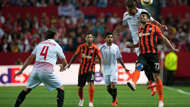[Video] Cuplikan Gol Sevilla 3-1 Shakhtar Donetsk [agg 5-3] (Liga Eropa)