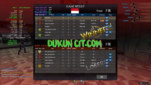 Cheat Point Blank Garena Indonesia 1122 ~ Lestari Kutai