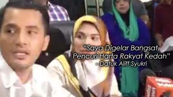 Datuk Terlajak Laris Terkilan Digelar Bangsat Dan Pencuri Harta Rakyat Kedah
