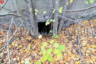Вход в полукапонир №13