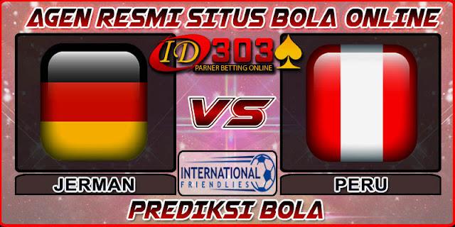 PREDIKSI BOLA JERMAN VS PERU 10 SEPTEMBER 2018