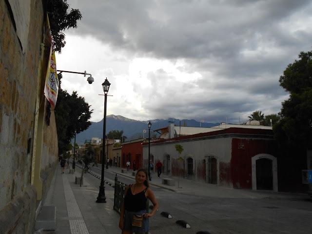 Oaxaca City streets