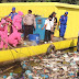Polda Kepri di Hari Peduli Sampah Nasional Bersama Masyarakat Bersihkan Sungai