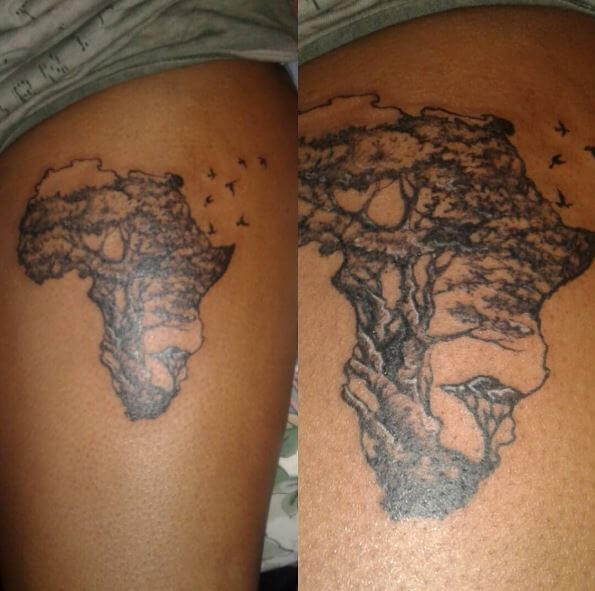 50 african tattoos inspired from tribes of africa 2018 page 2 of rh tattoosboygirl com african continent tattoo designs african continent tattoo tumblr