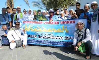 Jamaah Umroh Ramadhan Khazzanah Tour
