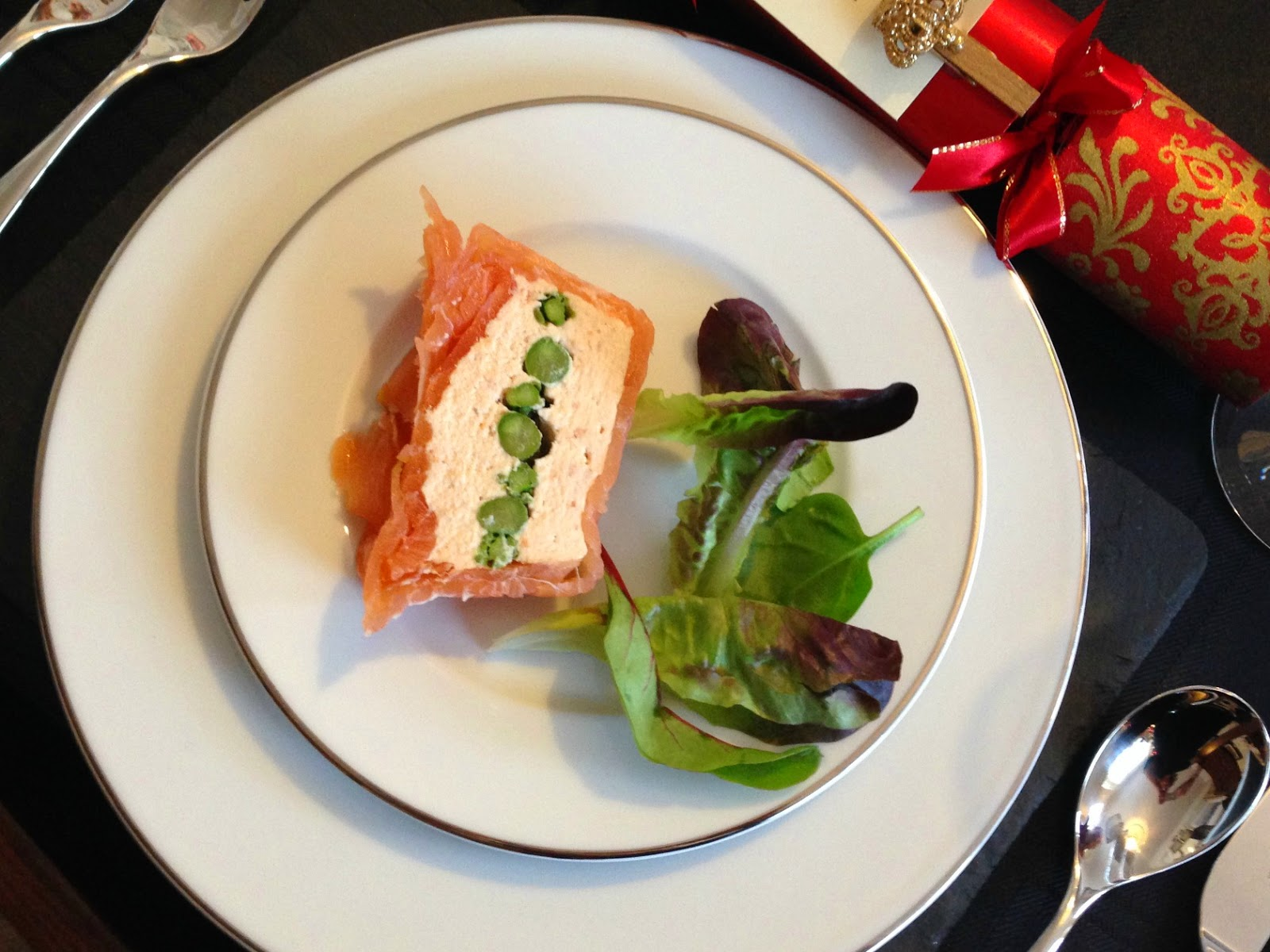 Salmon terrine starter by Mary Berry