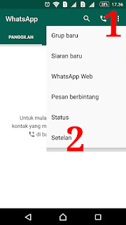 Pindah Whatsapp dari Android usang ke Android teranyar dan Mencadangkan Data Chat WA Mencadangkan Data Chat WA