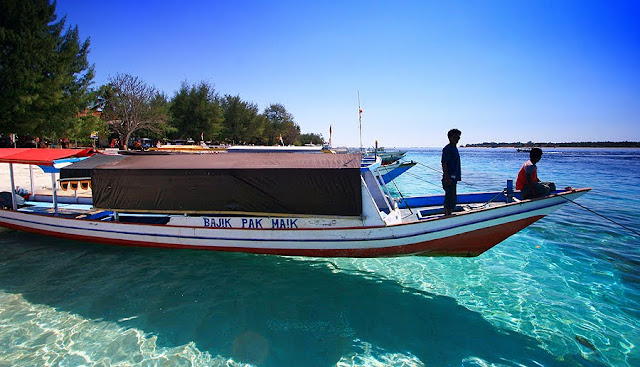 Backpacker ke Gili Air, Gili Trawangan dan Gili Meno, Lombok